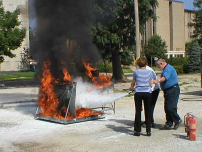 Fire Extinguisher Training Services